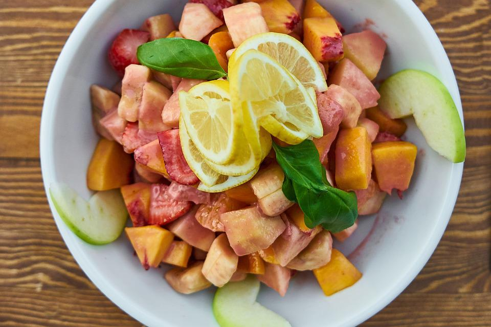 Fruit, Salad, Healthy Eating, Nature, Healthy, Organic
