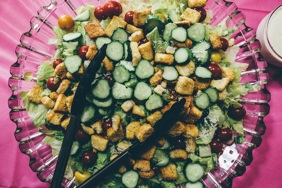 Salad, Healthy, Food, Fresh, Vegetable, Healthy Eating