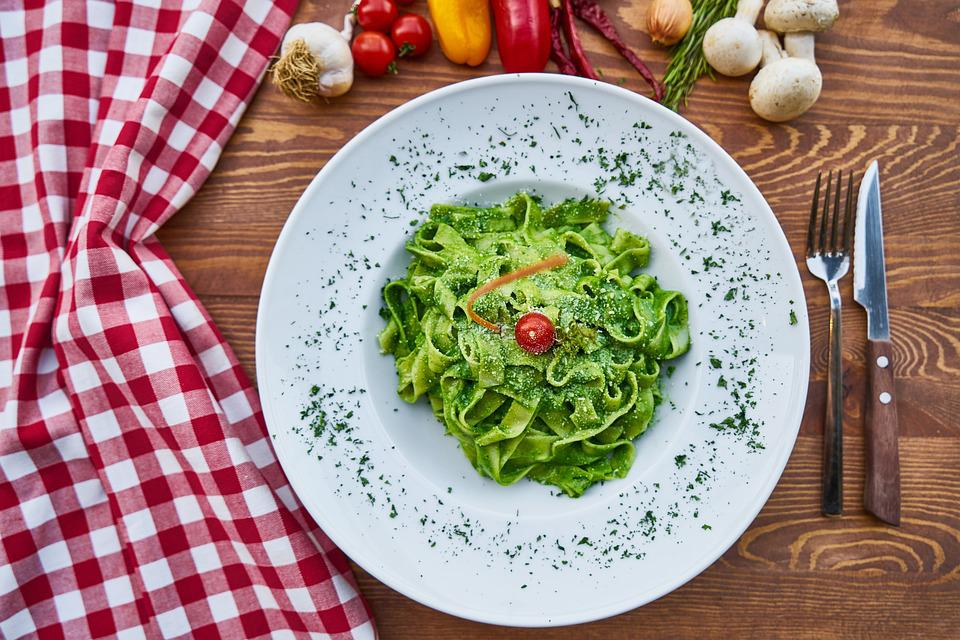 Pasta, Delicious, Healthy Food, Product Photo