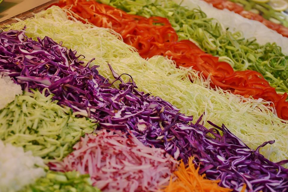 Salad, Frisch, Vegetables, Healthy, Diet, Food, Green