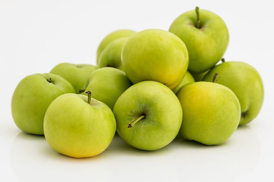 Apple, Fruit, Green, Healthy, Fresh, Diet, Nutrition