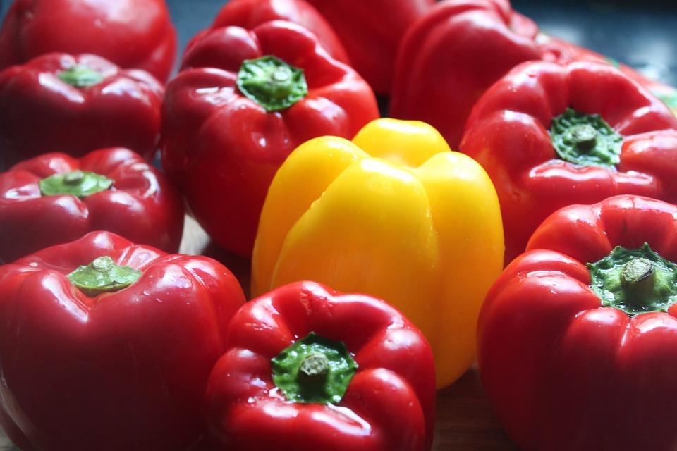 Paprika, Vegetables, Eat, Healthy, Vitamins