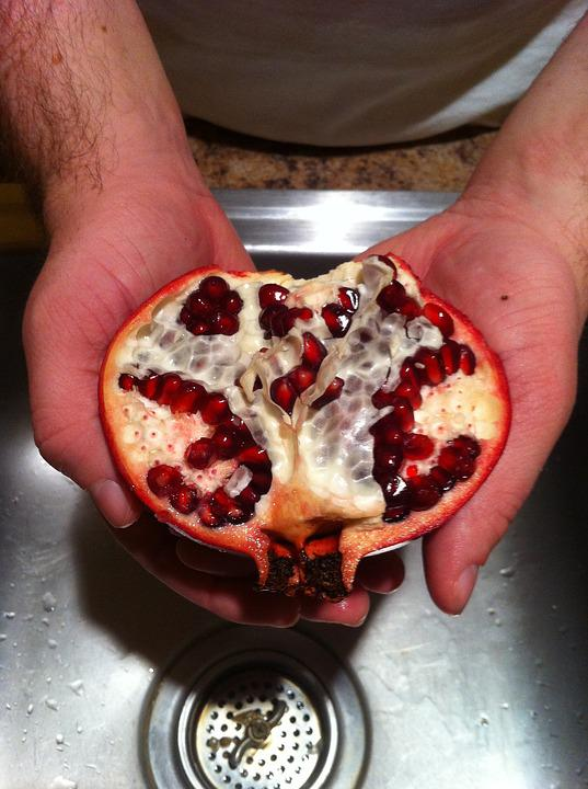Fruit, Pomegranate, Food, Healthy, Sweet, Nutrition