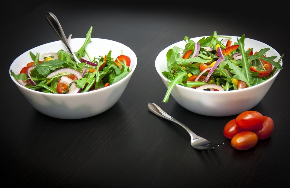 Salad, Healthy, Tasty, Foodstuffs, Nutrition, Bio