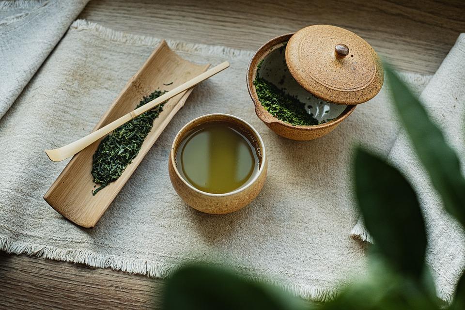 Tea, Organic, Pottery, Green, Healthy, Tradition, Japan