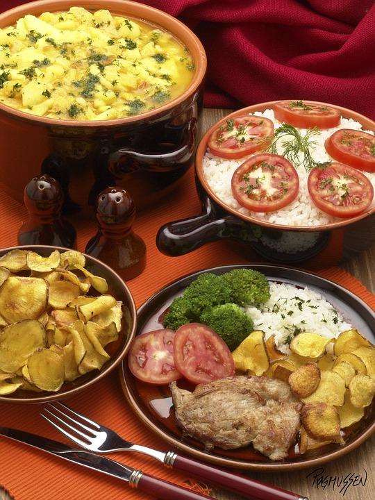 Food, Dinner, Vegetable, Healthy, Culinary Art, Dish