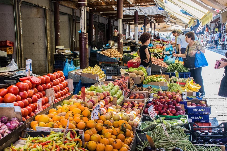Market, Fruit, Vegetables, Healthy, Fresh, Food