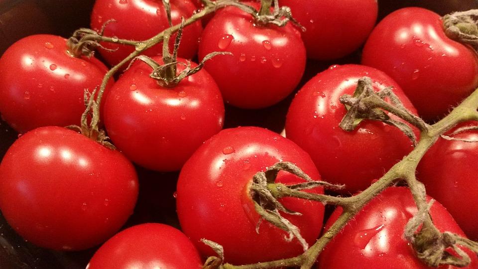 Tomatoes, Red, Vegetables, Food, Healthy, Vegetarian