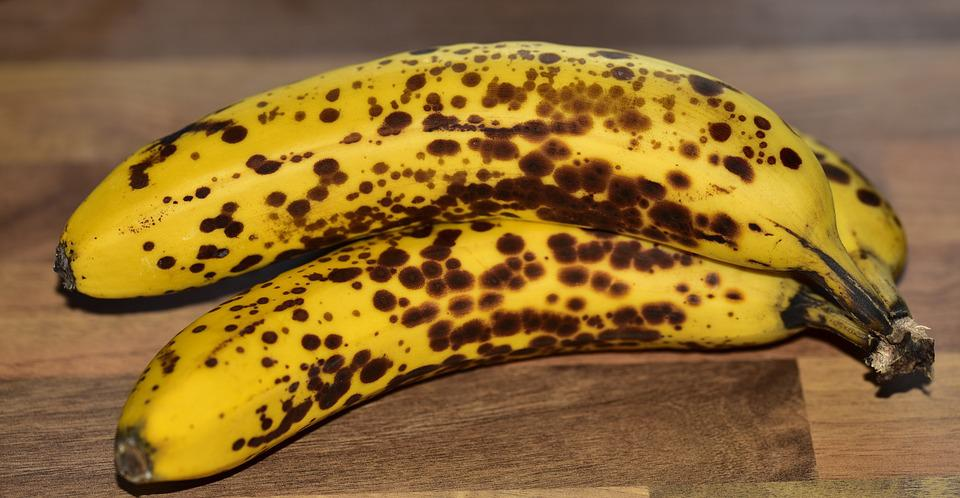 Banana, Fruit, Healthy, Yellow, Food, Tropical, Ripe