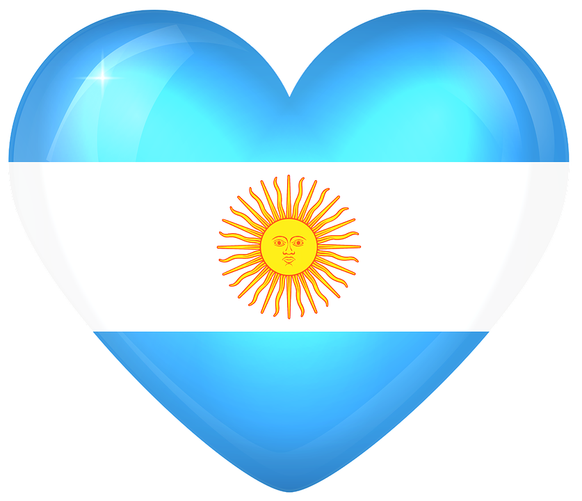 Argentina, Large, Heart