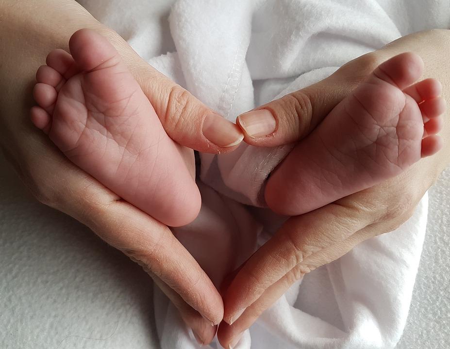 Feet, Baby, Heart