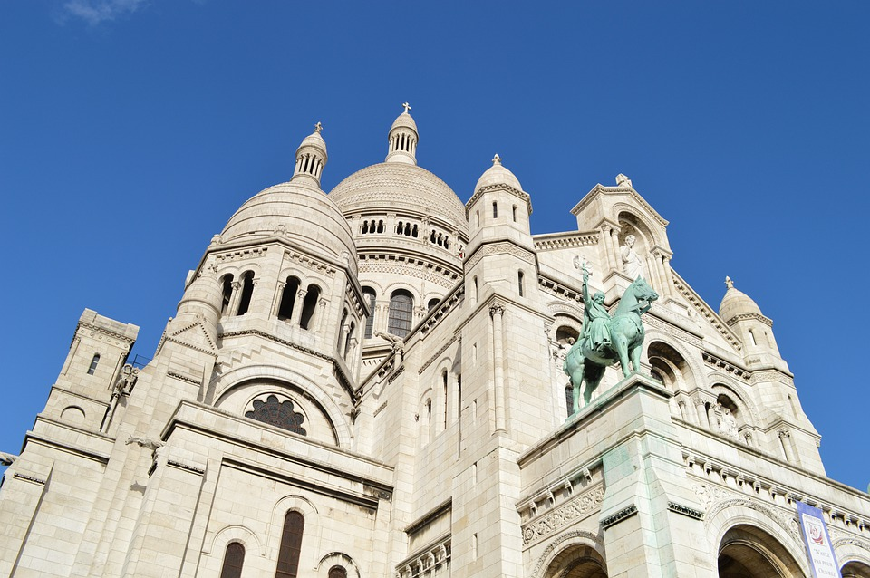 Sacred, Heart, Basilica Of The Sacred Heart, Paris