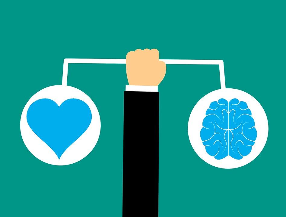 Brain, Heart, Brain Icon, Emotional Intelligence