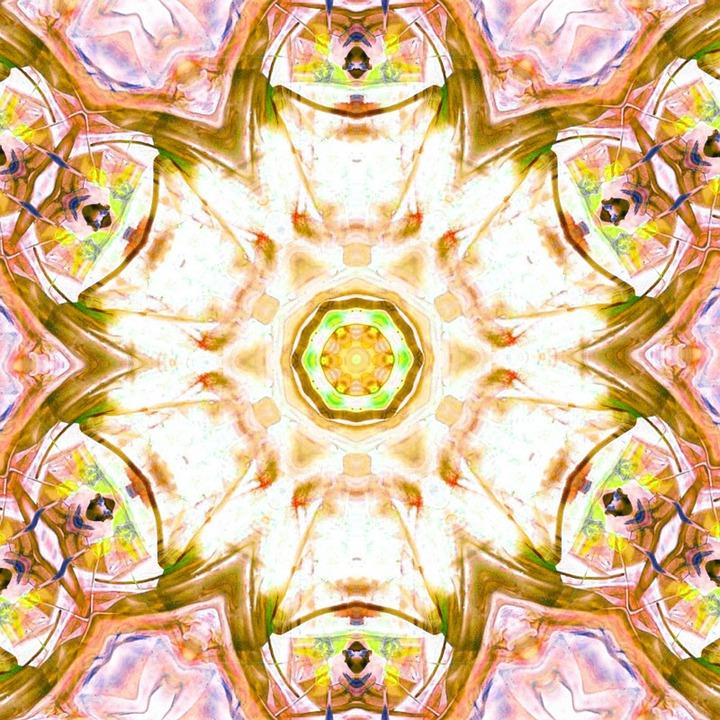 Chakra, Art, Heart, Healing, Gold, Meditation, Yoga