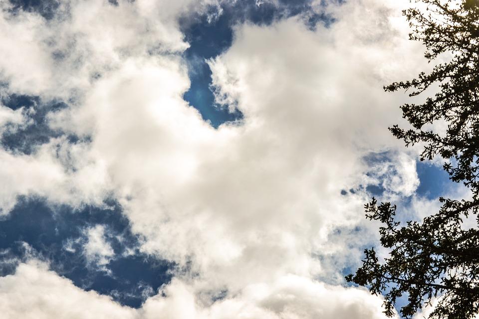 Cloud, Color, Sky, Blue, Summer, Heart