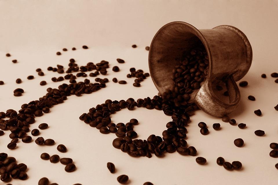 Coffee, Grain, Heart, Cup, Love