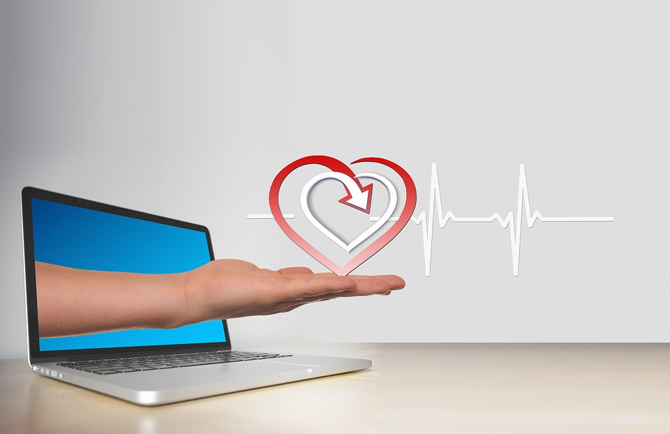 Heart, Curve, Health, Healthy, Pulse, Online