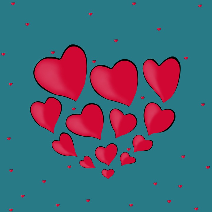Background, Desktop, Hearts, Heart, Red Hearts