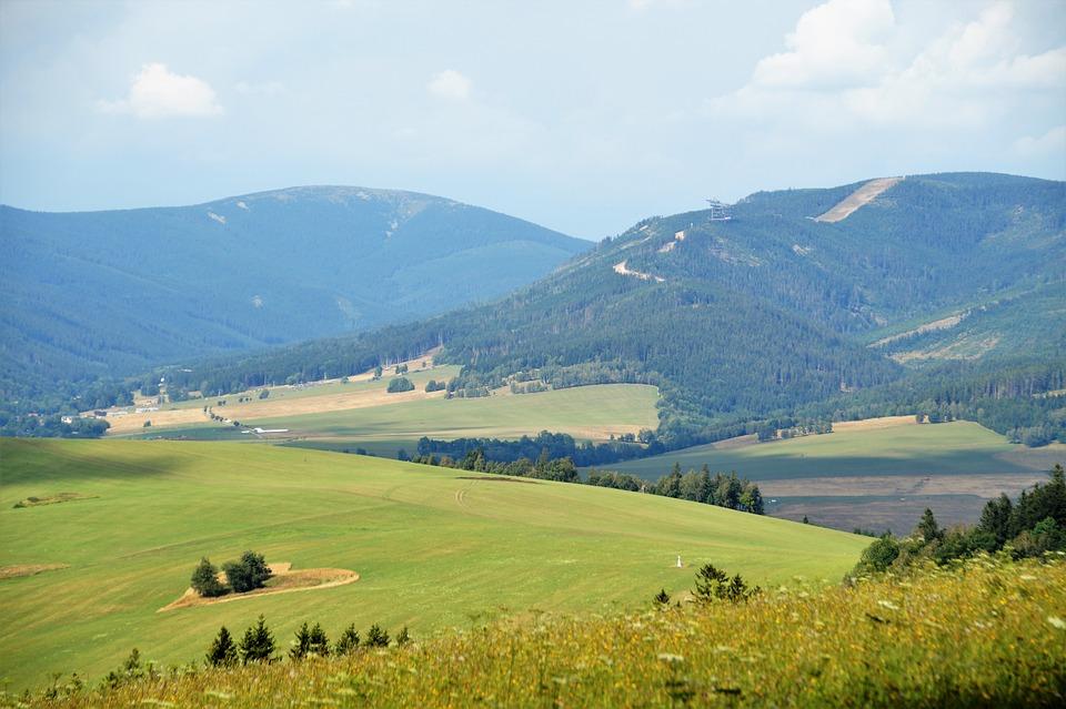 Landscape, View, Heart, Dolní Morava, The People's