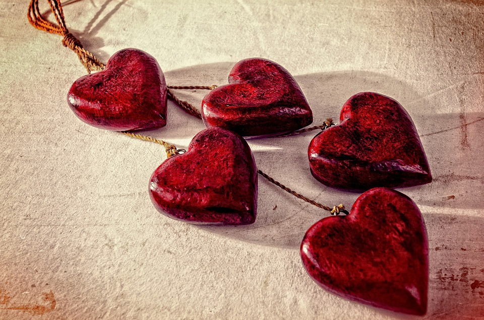 Heart, Hearts, Valentine' Day, Valentine, Feeling