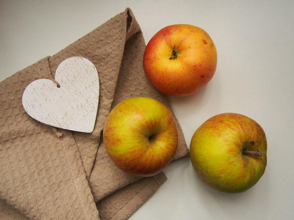 Apples, Fruits, Food, Healthy, Heart