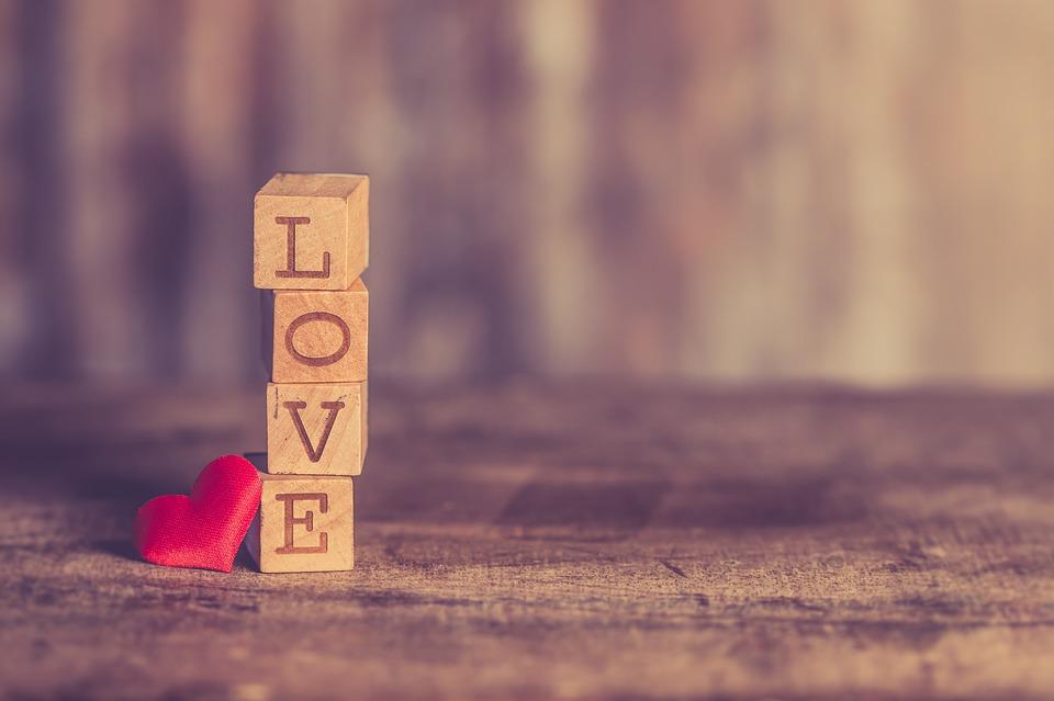 Love, Valentine, Romantic, Background, Heart, Vintage