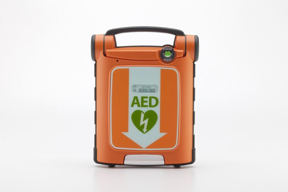 Powerheart, Aed, Defibrillator, Cardiac Arrest, Heart