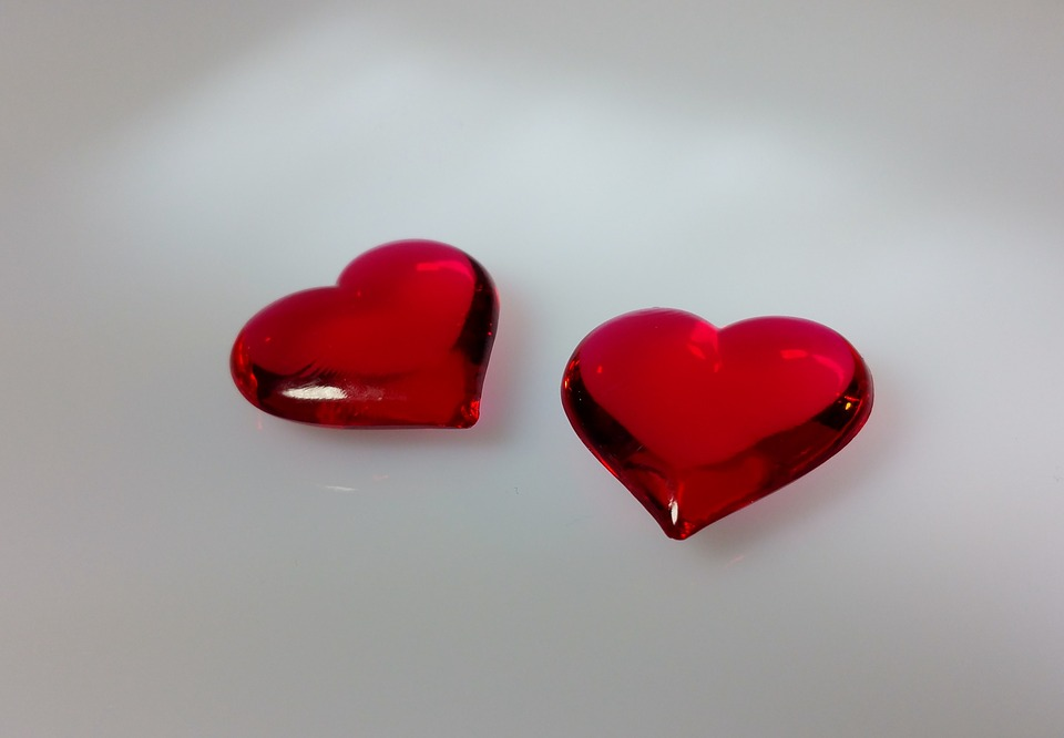 Heart, Transparent, Red, Love, Valentine