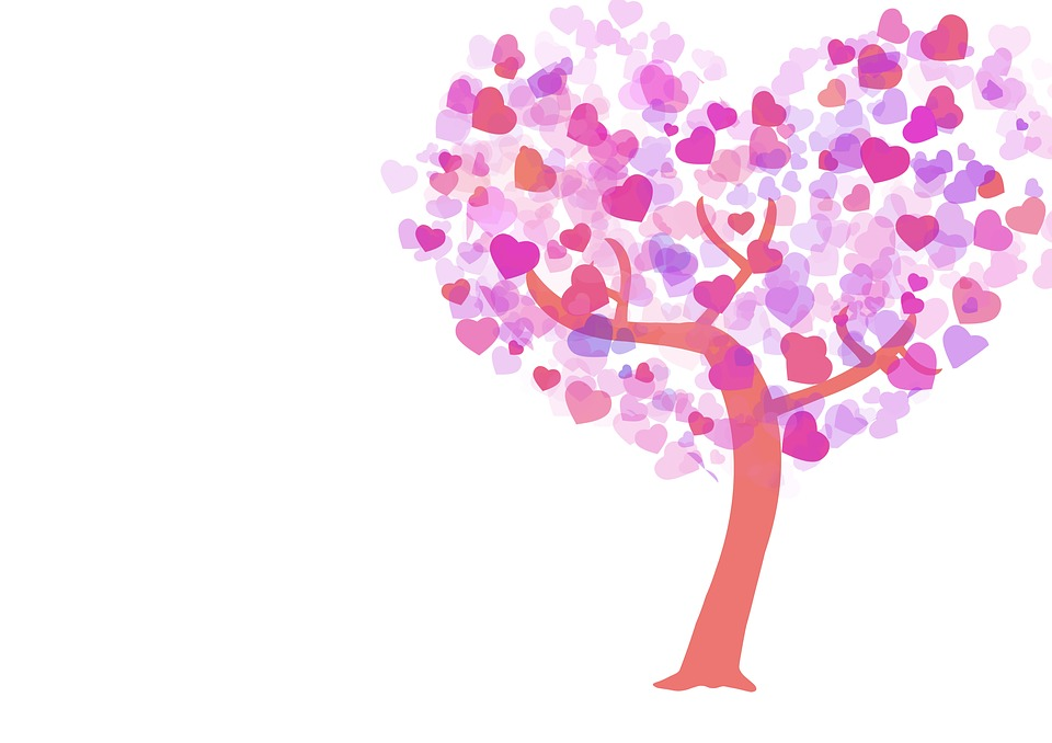 Heart, Tree, Romance, Valentine, Mother's Day, Feelings