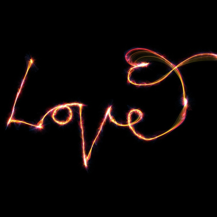 Love, Text, Font, Type, Typographic, Heart, Message