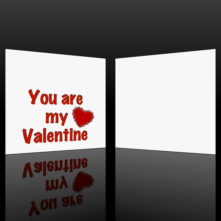 Valentine's Day, Card, Heart, Red