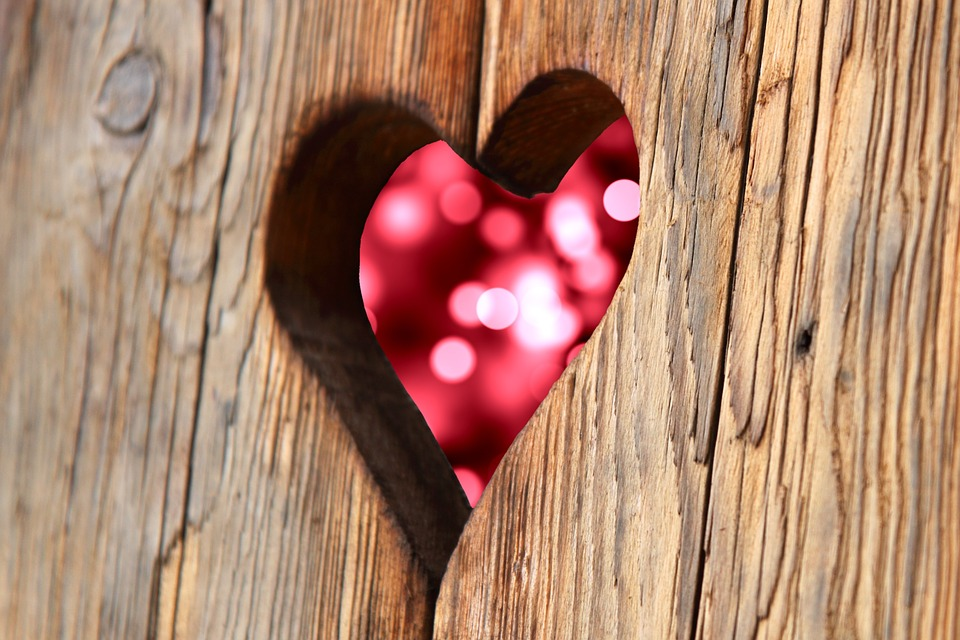 Heart, Wood, Love, Valentine's Day, Romantic