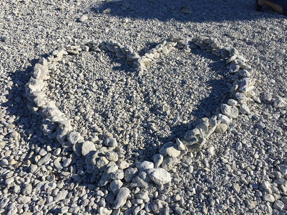 Heart, Heart-shaped, Stone