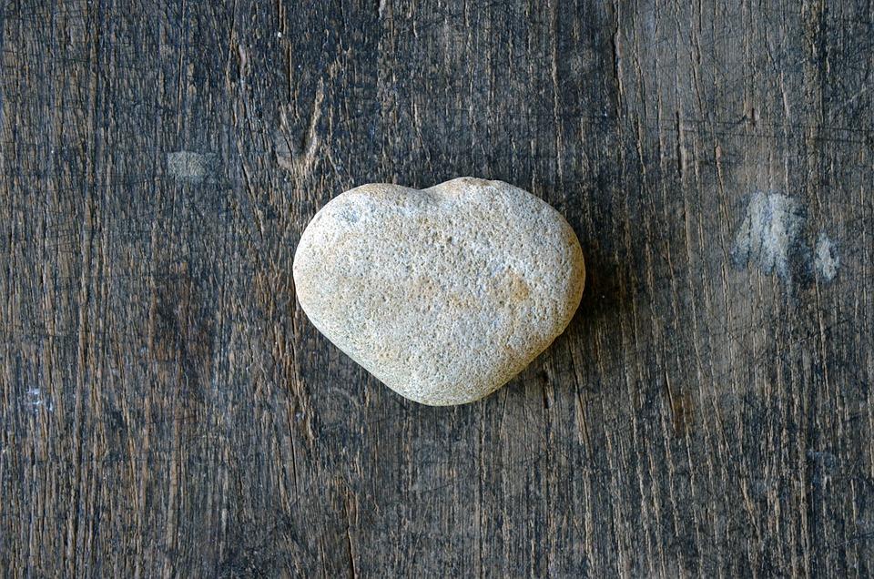 Heart-shaped-stone, Heart, Love, Shape, Romantic, Stone