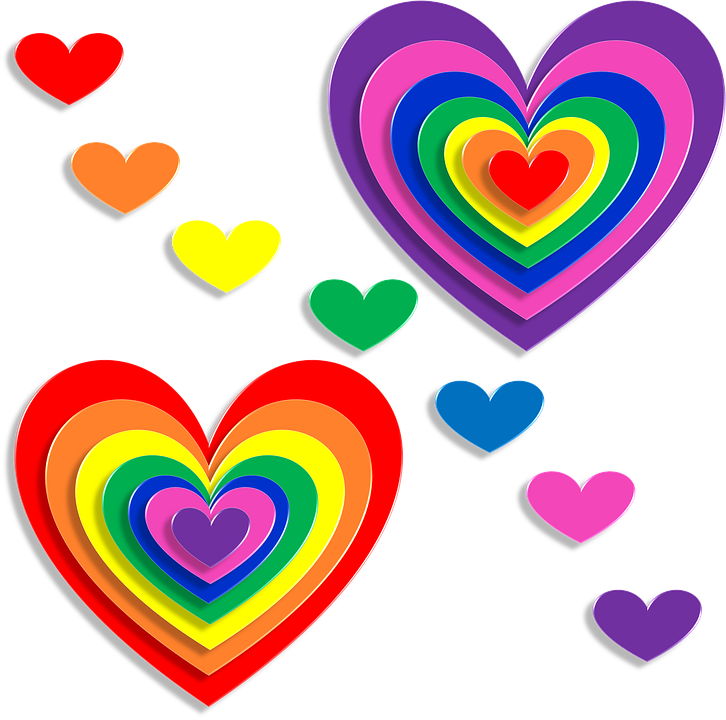 Hearts, Love, 3d, Valentine's Day, February, Romance