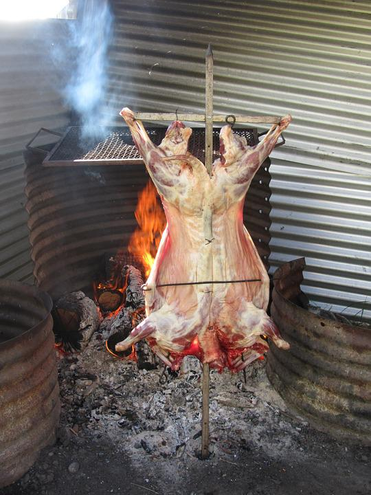 Lamb, Barbecue, Eat, Meat, Delicious, Food, Hearty