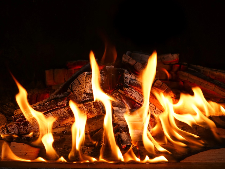 Flare-up, Heat, Burn, Flammable, Joy Fire, Hot
