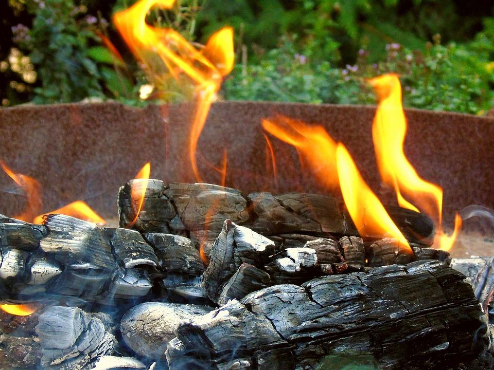 Campfire, Flame, Cozy, Heat, Burn, Wood, Fire, Summer