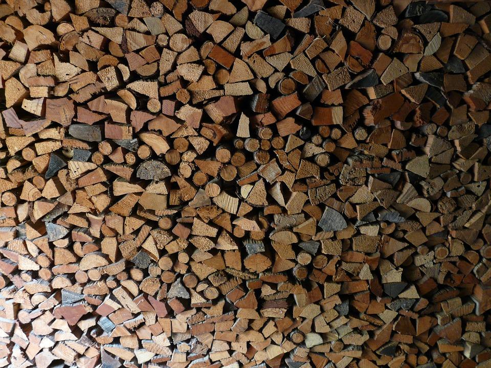 Wood, Holzstapel, Firewood, Log, Heat, Growing Stock