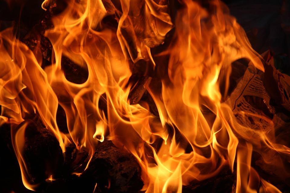 Fire, Bonfire, Campfire, Flame, Heat, Hot, Burn, Wood