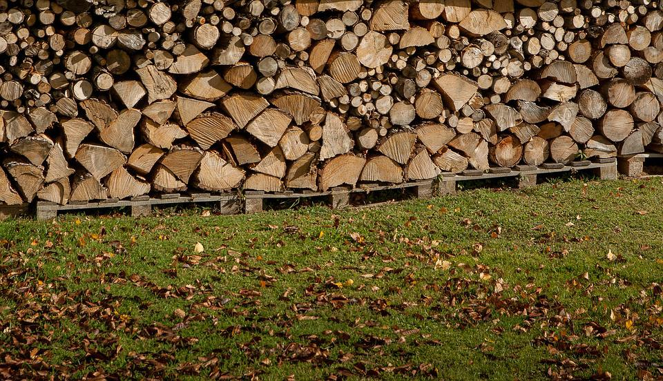 Wood, Heating, Logs, Wood Pile