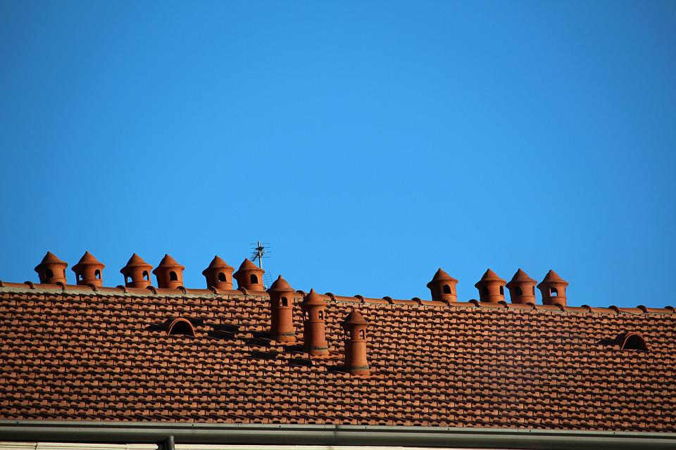 Roof, Chimneys, Fireplaces, Heating, Emissions