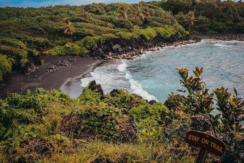 Beach, Secret, Fantasy, Surreal, Heaven, Ocean, Water
