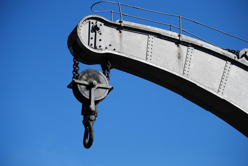 Crane, Heavy Duty, Bristol Docks, Construction, Metal