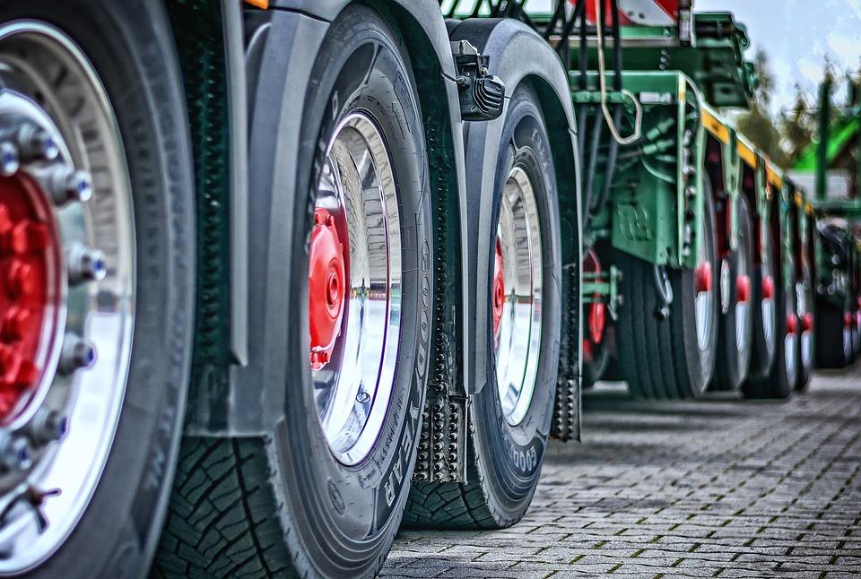 Truck, Heavy Duty, Tractor, Transport, Traffic