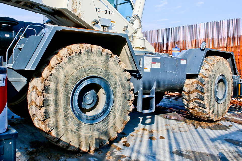 Industry, Machine, Power, Heavy, Equipment