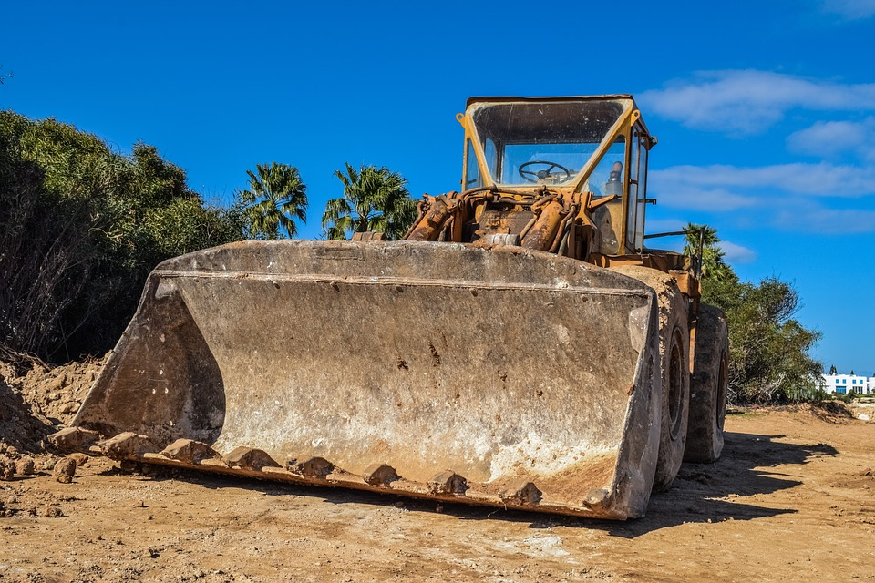 Bulldozer, Heavy Machine, Construction, Bucket
