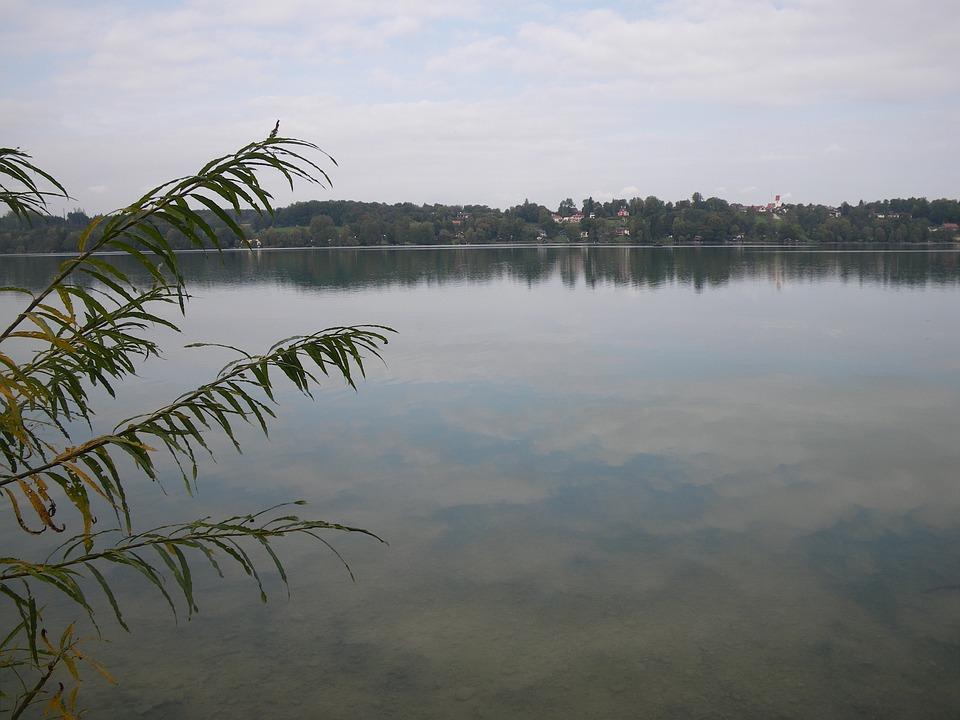 Lake, Pilsensee, Hechendorf, Swim