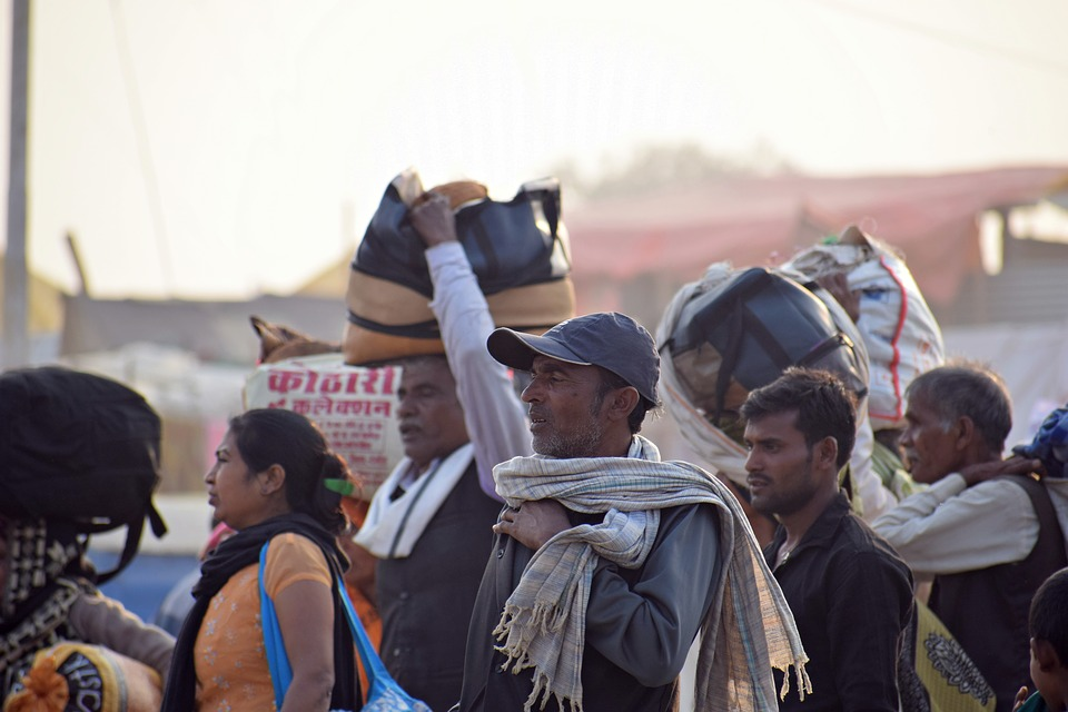 Crowd, People, Festival, Event, Hectic, Sacred, River