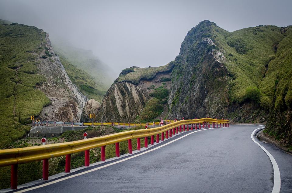 Road To Hehuanshan, Hehuanshan, Mountain, Taiwan